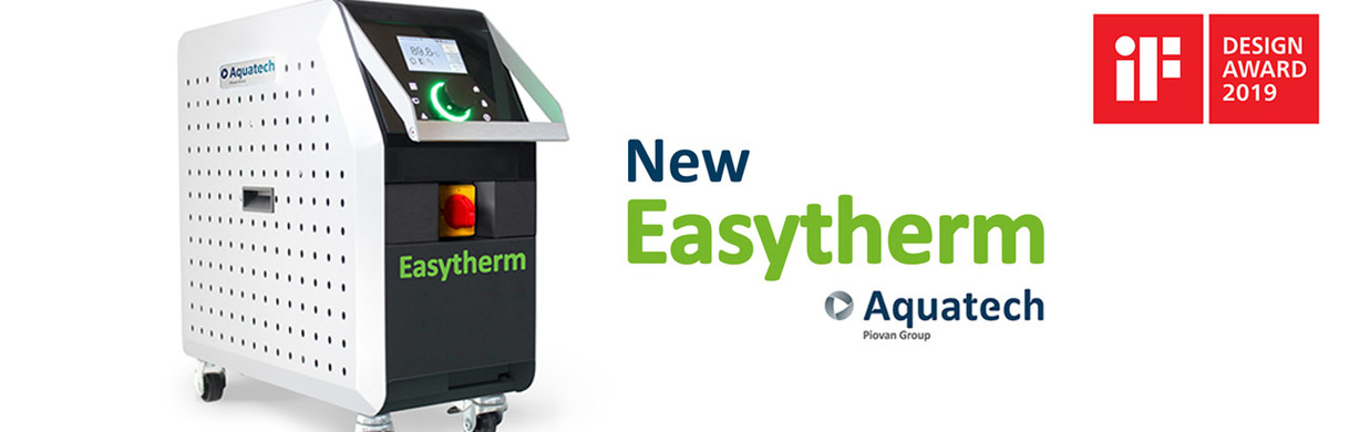 AQUATECH WINS THE IF DESIGN AWARD 2019 WITH EASYTHERM TEMPERATURE CONTROL UNIT